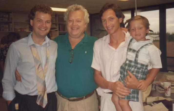 1987 : Upledger père et fils et Ducoux père et fils