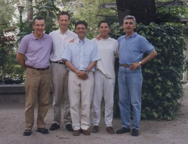 2003 stage Madrid Antonio, Ramiro, Juan, Banyuls